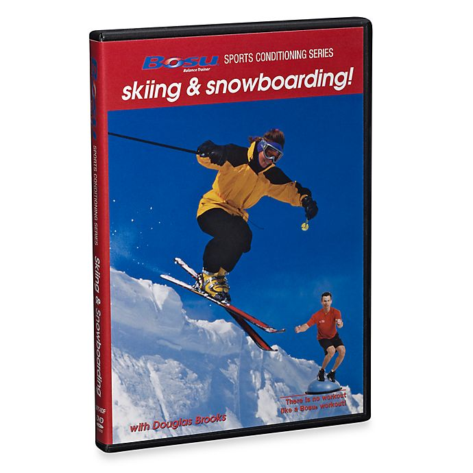 Alternate image 1 for BOSU® Sports Conditioning Skiing and Snowboarding with Douglas Brooks DVD