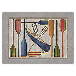 Dasco Vintage Oars Laminated Placemat in Grey
