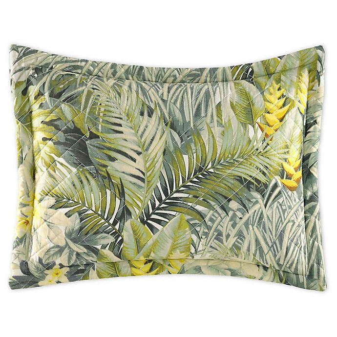 Alternate image 1 for Tommy Bahama® Cuba Cabana Oblong Throw Pillow in Green