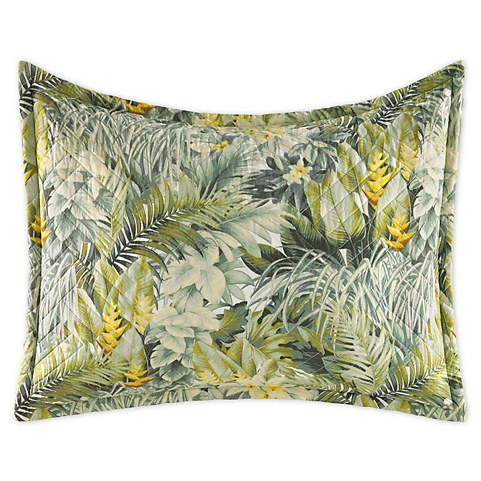 Alternate image 1 for Tommy Bahama® Cuba Cabana Standard Pillow Sham in Green