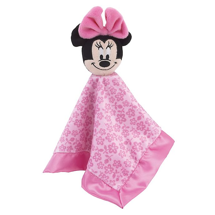Disney Baby ~ MICKEY MOUSE ~ Lovey Security Blanket Snuggle BLANKIE ~ NEW NWT