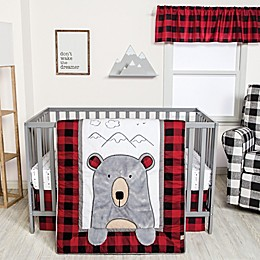 Trend Lab® Peek-a-Bear 3-Piece Crib Bedding Set