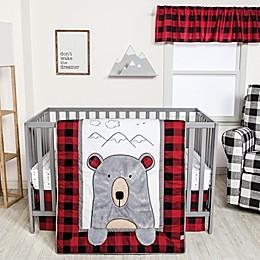 Trend Lab® Peek-a-Bear 3-Piece Crib Bedding Set