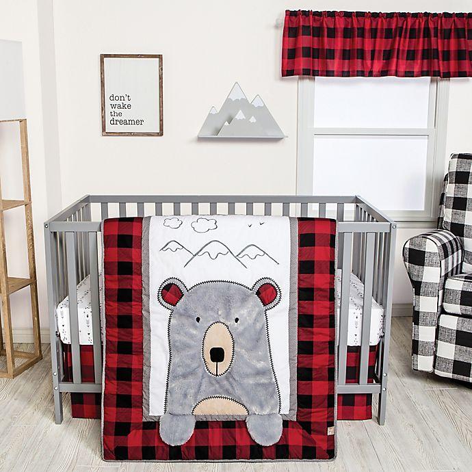 Alternate image 1 for Trend Lab® Peek-a-Bear 3-Piece Crib Bedding Set