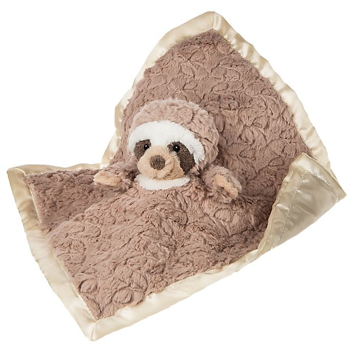 Alternate image 1 for Mary Meyer Sloth Character Blanket in Brown
