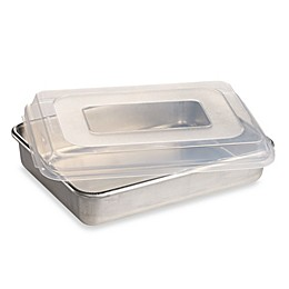 Nordic Ware®  9-Inch x 13-Inch Aluminum Cake Pan with Lid