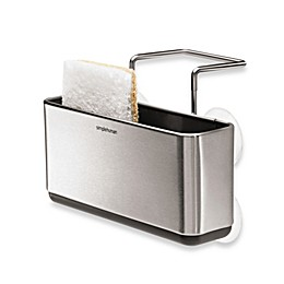 simplehuman® Slim Stainless Steel Sink Organizer