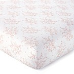Levtex Baby® Heritage Floral Fitted Crib Sheet in Blush