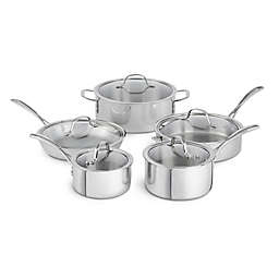 Calphalon® Tri-Ply Stainless Steel 10-Piece Cookware Set