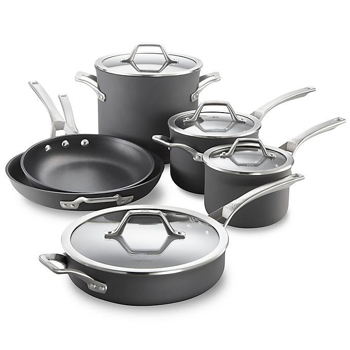 Alternate image 1 for Calphalon® Signature™ Nonstick 10-Piece Cookware Set