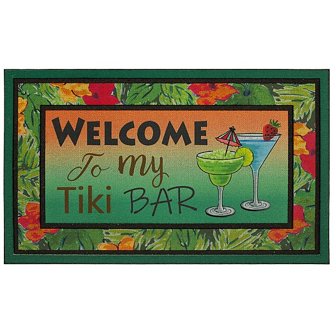 Alternate image 1 for Mohawk Home® Tiki Bar 18-Inch x 30-Inch Crumb Rubber Doormat