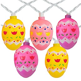 Northlight 10-Light Multicolor Easter Egg String Light Set