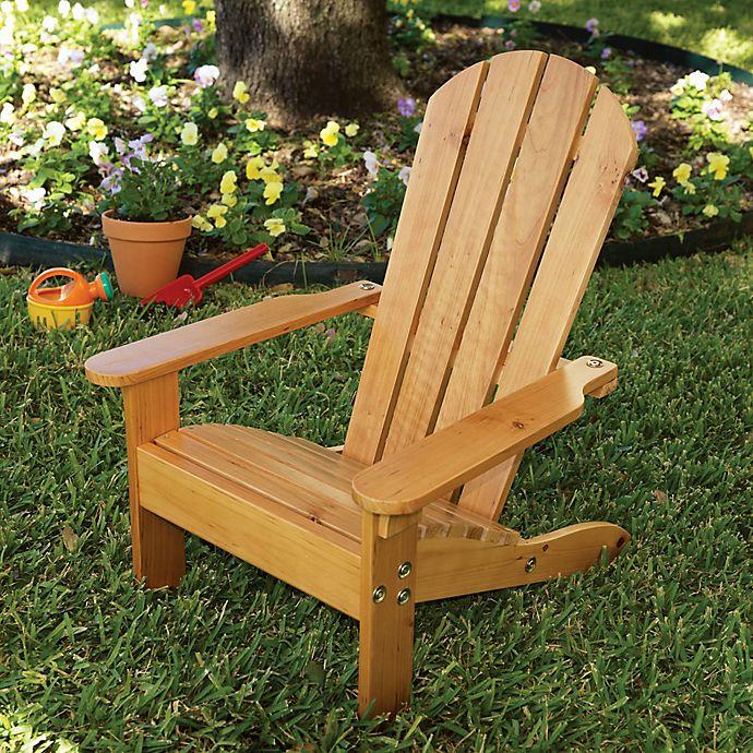Alternate image 1 for KidKraft® Adirondack Chair in Honey