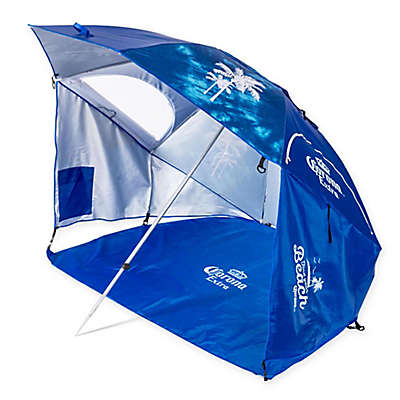 "Corona ""Always Summer"" Beach Umbrella in Blue"