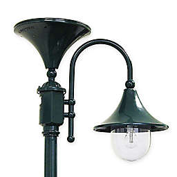 Everest 92-Inch Outdoor Solar LED Lamp Post