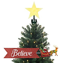 Mr. Christmas® Santa Sleigh Animated Tree Topper