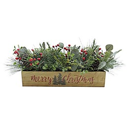 Merry Christmas Floral Centerpiece