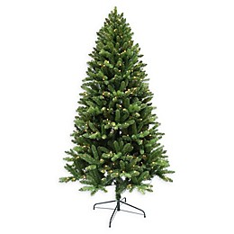Pre-Lit 6.5 Foot Tacoma Pine Christmas Tree