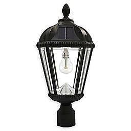 Gama Sonic Post Mount Outdoor Integrated LED Post Lantern