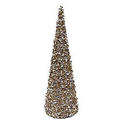 Bee & Willow™ Home Small Glitter Cone Tree in Bronze
