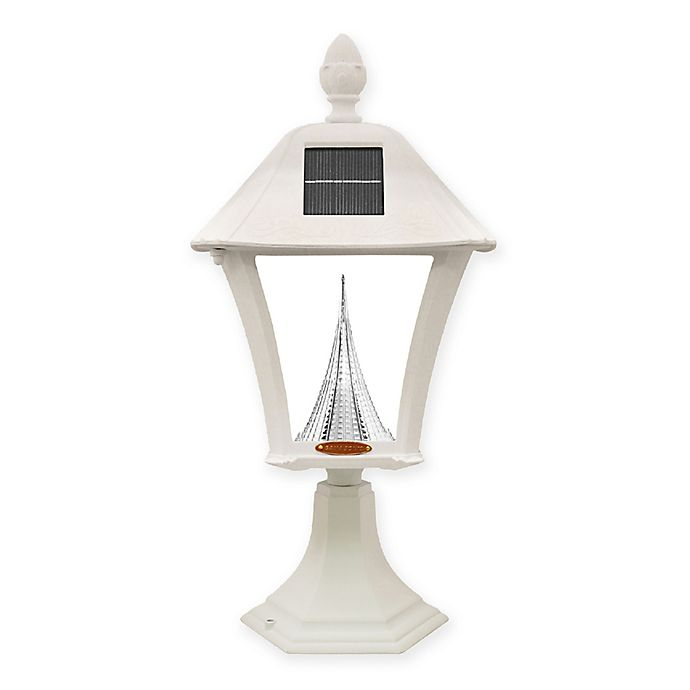 Alternate image 1 for Gama Sonic Indoor/Outdoor Integrated LED Post Lantern