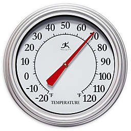 Infinity Instruments Silvertide 12-Inch Outdoor Termometer in Silver