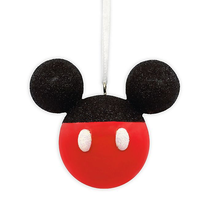 Alternate image 1 for Hallmark® Disney® Mickey Mouse Glitter Ornament