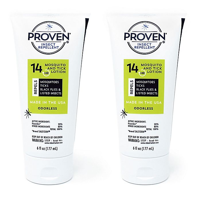 Alternate image 1 for PROVEN® 14-Hour 2-Pack 6 oz. Odorless Insect Repellant Lotion