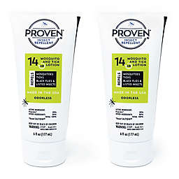 PROVEN® 14-Hour 2-Pack 6 oz. Odorless Insect Repellant Lotion