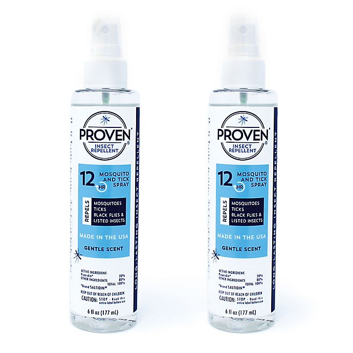Alternate image 1 for PROVEN® 12-Hour 2-Pack 6 oz. Insect Repellant Spray in Gentle Scent