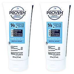 PROVEN® 14-Hour 2-Pack 6 oz. Insect Repellant Lotion in Gentle Scent