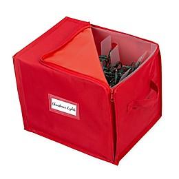 Simplify Stackable Christmas Tree Light Organizer Box