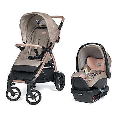 Peg Perego Booklet 50 Travel System in Mon Amour/Rose Gold