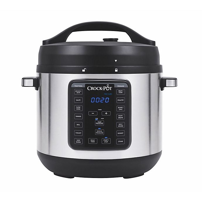 Alternate image 1 for Crock-Pot® 8 qt. Express Crock XL Programmable Multi-Cooker in Stainless Steel