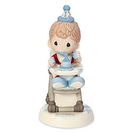 Baby Boy First Birthday Smash Cake Figurine