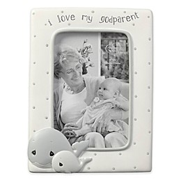 Whale Godparent 4-Inch x 6-Inch Picture Frame