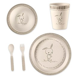 Precious Moments® Bunny 5-Piece Child's Place Setting in Green