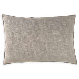 DKNYpure® Texture Standard Pillow Sham in Blush