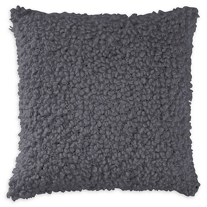 Alternate image 1 for DKNYpure® Texture Loop Throw Pillow