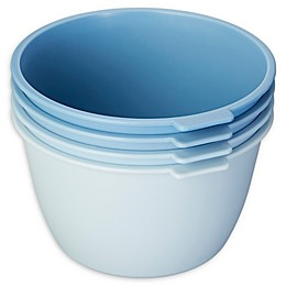 SALT™ Stackable Microwave Bowls in Blue (Set of 4)