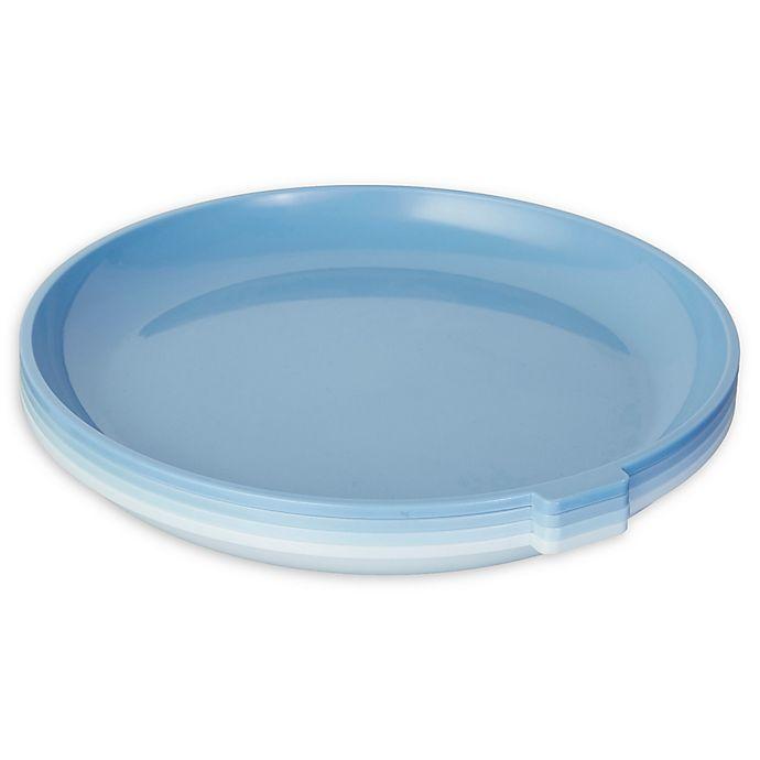 Alternate image 1 for SALT™ Microplates in Blue (Set of 4)