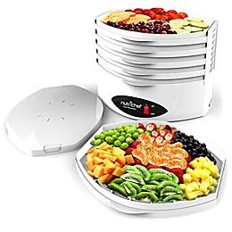 NUTRICHEF Multi-Tier Food Dehydrator in White