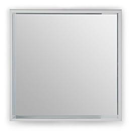 Simpli Home Vienna 25.3-Inch Square Box Frame Mirror in White