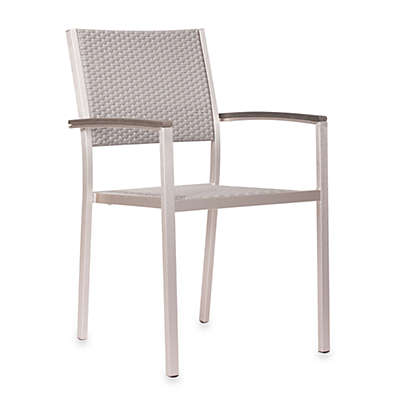 Zuo® Outdoor Metropolitan Arm Chairs (Set of 2)