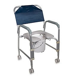Drive Medical Lightweight Commode with Casters