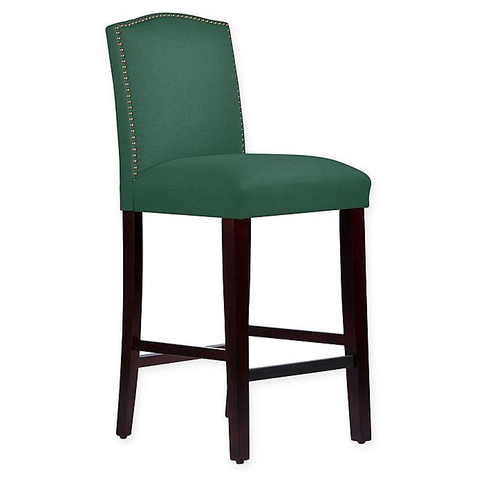 Alternate image 1 for Skyline Furniture Roselyn Bar Stool in Conifer Green