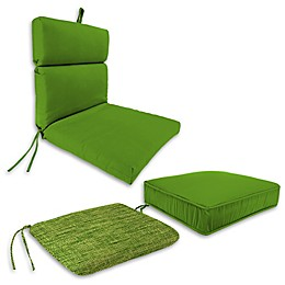 Solid Outdoor Cushion and Throw Pillow Collection