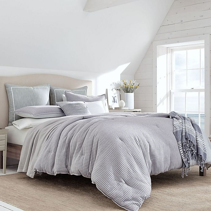 Alternate image 1 for Nautica® Ballastone Twin Duvet Set in Grey