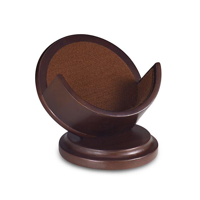 Alternate image 1 for Cherry Pedestal Coaster Holder