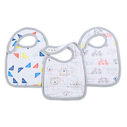 aden + anais® 3-Pack Leader of the Pack Classic Muslin Snap Bibs